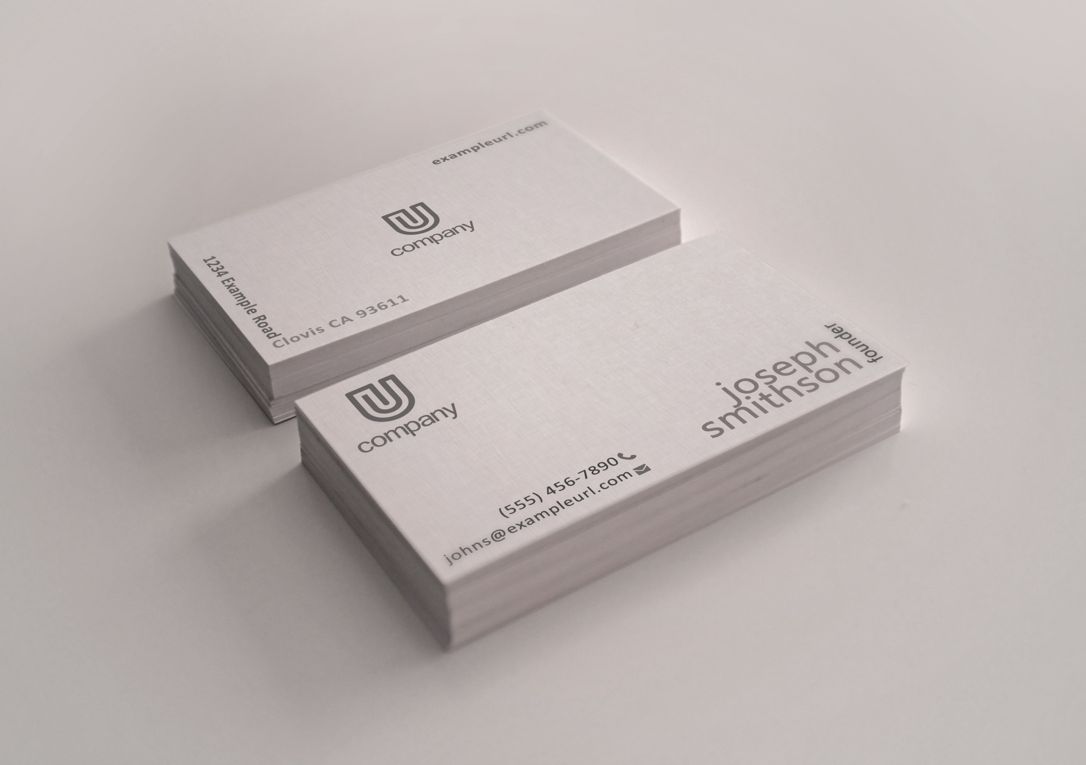 16 pt Business Cards